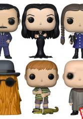 ADDAMS FAMILY - POP SET (6 FIGURES - CHASE RANDOMLY INCLUDED)