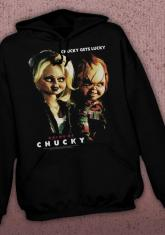 Childs Play - Chucky Gets Lucky DISCONTINUED - LIMITED QUANTITIES AVAILABLE [HOODED SWEATSHIRT]