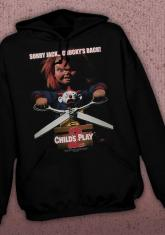 Childs Play - Poster DISCONTINUED - LIMITED QUANTITIES AVAILABLE [HOODED SWEATSHIRT]