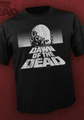 DAWN OF THE DEAD - CLASSIC BW LOGO [GUYS SHIRT]
