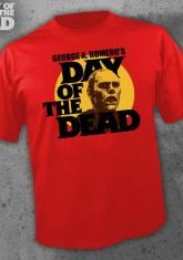 DAY OF THE DEAD - SUN (RED) [GUYS SHIRT]