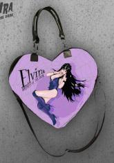 ELVIRA - HEART HANDBAG