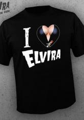 ELVIRA - I HEART ELVIRA [MENS SHIRT]