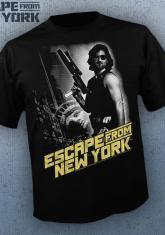 ESCAPE FROM NEW YORK - POSTER (BW) [GUYS SHIRT]
