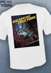 ESCAPE FROM NEW YORK - POSTER (WHITE) [GUYS SHIRT]