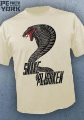 ESCAPE FROM NEW YORK - SNAKE PLISSKEN (CREAM) [GUYS SHIRT]