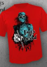 FACES OF DEATH - DOCTOR (RED) - HORRORMERCH EXCLUSIVE [MENS SHIRT]