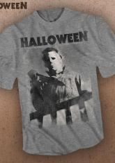 HALLOWEEN - STALKING (GRAY) [GUYS SHIRT]