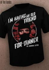 SILENCE OF THE LAMBS - OLD FRIEND [GUYS SHIRT]