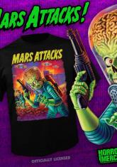 MARS ATTACKS - POSTER [GUYS SHIRT]