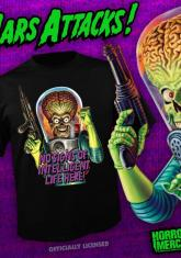 MARS ATTACKS - NO INTELLIGENT LIFE [GUYS SHIRT]