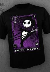 NIGHTMARE BEFORE CHRISTMAS - BONE DADDY [GUYS SHIRT]
