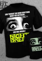 NIGHTBREED - LORI POSTER (GLOWS IN THE DARK) [GUYS SHIRT] - HORRORMERCH EXCLUSIVE