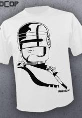 ROBOCOP - ARTWORK (WHITE) [GUYS SHIRT]