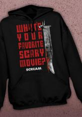 SCREAM - FAVORITE MOVIE DISCONTINUED - LIMITED QUANTITIES AVAILABLE [HOODED SWEATSHIRT]