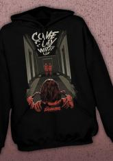 SHINING - PLAY WITH US DISCONTINUED - LIMITED QUANTITIES AVAILABLE [HOODED SWEATSHIRT]