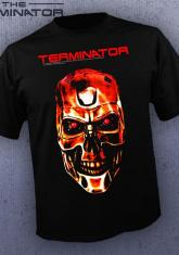 TERMINATOR - ENDOSKELETON FACE CLOSEUP [GUYS SHIRT]