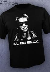 TERMINATOR - I'LL BE BACK BW [GUYS SHIRT]