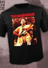 TEXAS CHAINSAW MASSACRE - LEATHERFACE AND GRANDPA [GUYS SHIRT]