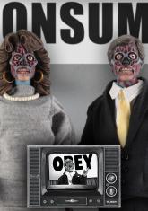 THEY LIVE - ALIEN 2 PACK (CLOTHED) [FIGURE]
