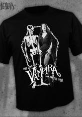 VAMPIRA - YOU LOVE HER SHE HATES YOU [MENS SHIRT]