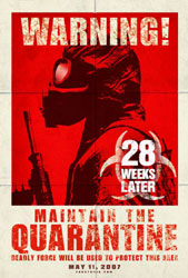 28 Weeks Later Poster 1