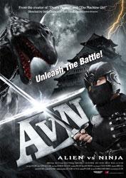 Alien vs. Ninja Poster 1