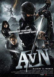 Alien vs. Ninja Poster 2