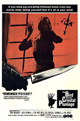 The Bird with the Crystal Plumage Poster 1