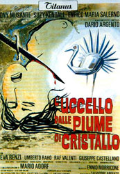 The Bird with the Crystal Plumage Poster 2