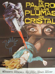 The Bird with the Crystal Plumage Poster 6