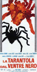 The Black Belly of the Tarantula Poster 2