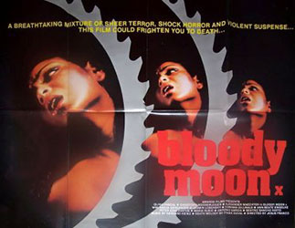 Bloody Moon Poster 1
