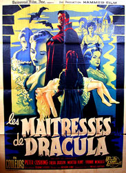 The Brides of Dracula Poster 1