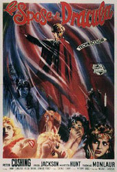 The Brides of Dracula Poster 2