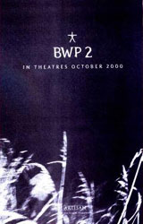 Blair Witch 2: Book of Shadows Poster 3