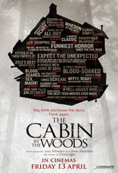 The Cabin in the Woods Poster 3