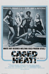 Caged Heat Poster 1