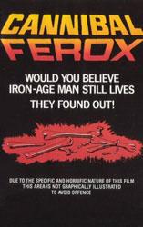 Cannibal Ferox Poster 2