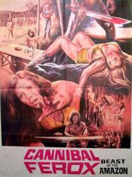 Cannibal Ferox Poster 7