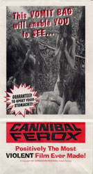 Cannibal Ferox Poster 8