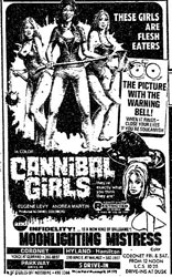 Cannibal Girls Poster 1