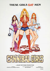 Cannibal Girls Poster 2