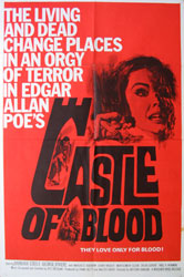 Castle Of Blood Poster 1