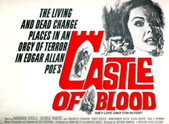 Castle Of Blood Poster 4