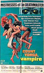 Count Yorga, Vampire Poster 1