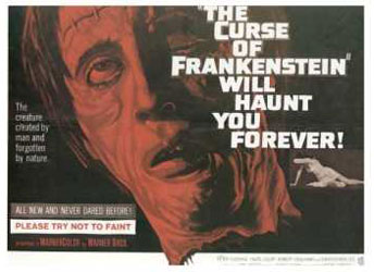 The Curse Of Frankenstein Poster 1