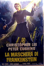 The Curse Of Frankenstein Poster 3
