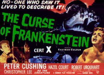 The Curse Of Frankenstein Poster 5