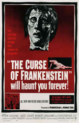 The Curse Of Frankenstein Poster 6